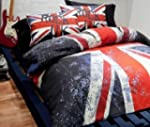 Union Jack Rock UK Reversible Double...