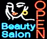 LED Neon Hair Cut Beauty Salon Open Business Sign B61 thumbnail