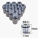 CycleMore Super Precision 13 PCS ER11 ER-11 Spring Collet Set for CNC Engraving Machine & Milling Lathe Tool