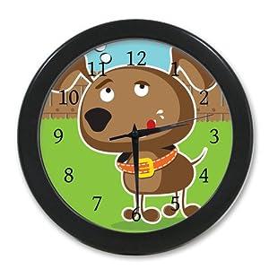 Amazoncom New Style Wall Decor Clock Custom Cute