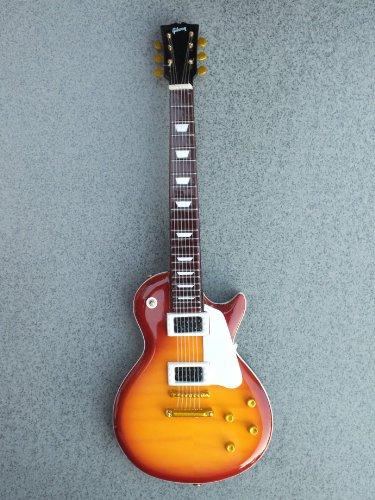 Rgm652 Jimmy Page Led Zeppelin Cherry Burst Miniature Guitar