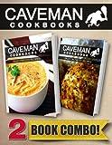 Paleo Freezer Recipes and Paleo On-The-Go Recipes: 2 Book Combo (Caveman Cookbooks)