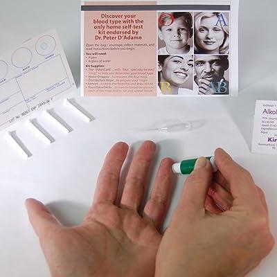 (2 Pack) Eldoncard Blood Type Test (Complete Kit) - air sealed envelope, safety lancet, micropipette, cleansing swab