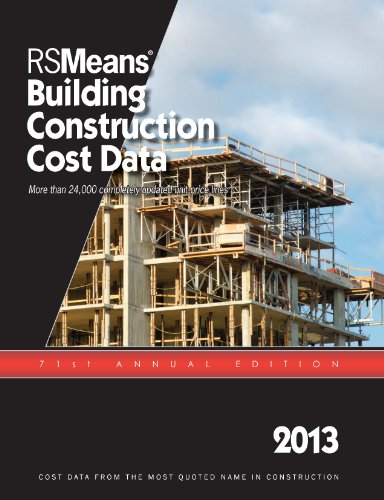 RSMeans Building Construction Cost Data 2013 - RS Means - RS-Construction - ISBN: 1936335565 - ISBN-13: 9781936335565