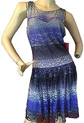 Betsey Johnson Women's Blue Lace Dress