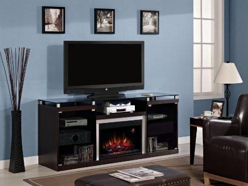 Classicflame Albright Electric Fireplace Entertainment Center In Espresso - 26Mm9404-E451
