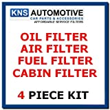 BMW 318d & 320d E46 Oil,Fuel,Air & Pollen Filter Service Kit
