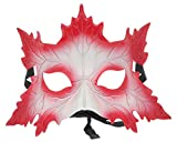 Biwinky Antifaz para Fiestas de Halloween Rojo