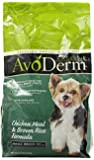AvoDerm Natural Chicken Meal and Brown Rice Formula Small Breed Adult Dog Food, 3.5-Pound
