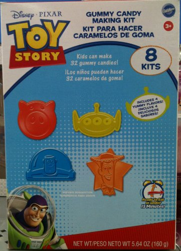 TOY STORY Disney Pixar GUMMY CANDY MAKING KIT