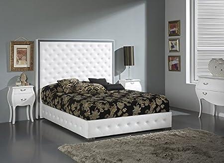 Cama BURGOS para colchón de 150x190cm