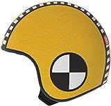 Huevo - cubriendo para un casco niño, modelo SAM, amarillo, tamaño S