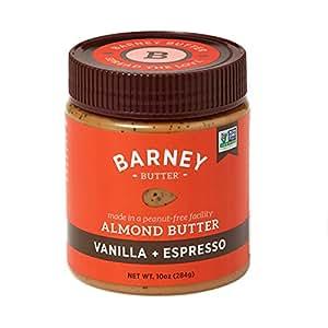 Barney USA Almond Butter Vanilla Bean & Espresso 284g