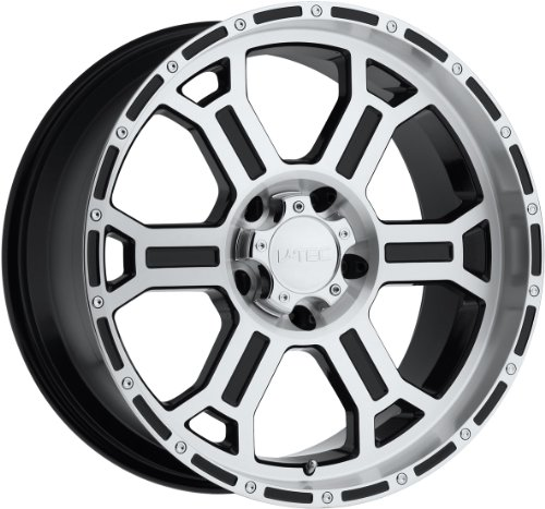 51iyI86rEgL 18x9.5 V Tec Raptor Gloss Black & Mirror Machined Face Wheel