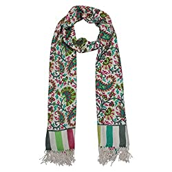 Shawls of India Multicolor Printed Stole
