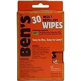 Tender Bens 30% Deet 12-count Travel Wipes