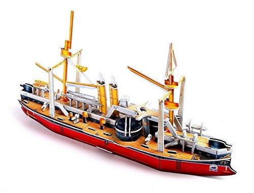 3D-Puzzle-DIY Papierpuzzle Spielzeug Intelligenz-Spielzeug für Kinder bauen Modellboote Dingyuan Anzahl der erwachsenen Kinder Puzzle Baby-Geschenk-Wohnaccessoires 3D-Puzzles Holzpuzzles Klassische Puzzles Spielzeug Geschenke