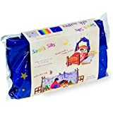 Night Sky Silk Scape By Sarah's Silks - Giant 9 Feet Long - Bed Canopy - Fort Building - Play Tent - Group Games