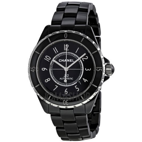 Chanel J12 Black Dial Ceramic Automatic Unisex Watch H2980