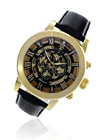 Lindberg & Sons Reloj Azteca Dorado