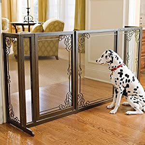 ... Pet Gate - Frontgate Dog Gate : Indoor Safety Gates : Pet Supplies
