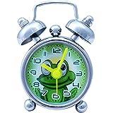 Super Drool Designer Silver Alarm Clock
