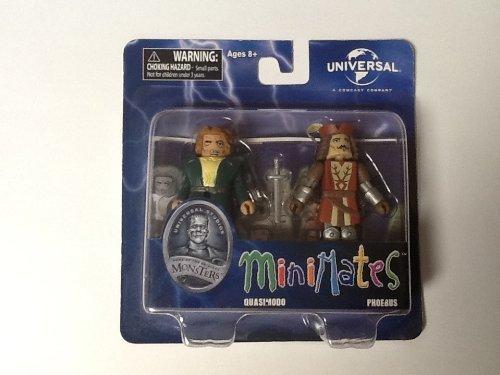 Universal Monsters Minimates Wave 3 - Quasimodo and Phoebus - 1