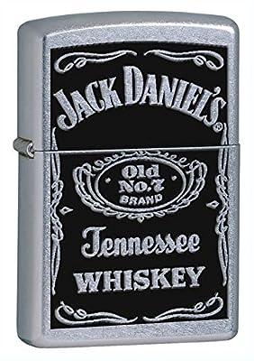 "Zippo Pipe Lighter: Jack Daniels ""Old No. 7"" Logo - Street Chrome 24779PL"