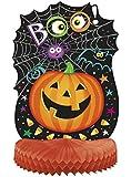"14"" Honeycomb Pumpkin Pals Halloween Decoration"