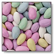 Jordan Almonds Assorted Colors Large Bag 44oz