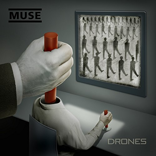Original album cover of Drones by MUSE