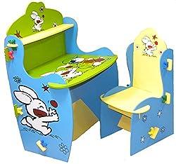 Wood O Plast Knock Down Kids Study Table Chair Set