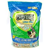 Carefresh Litter Plus for Small Animals, 7.5-Liters, Small Pellets