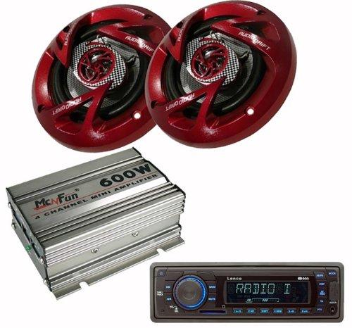 600W Auto Musikanlage Radio Endstufe Boxen USB