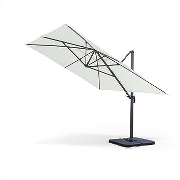 Alice 39 s garden parasol d port d port rectangulaire - Parasol deporte rectangulaire excentre inclinable ...