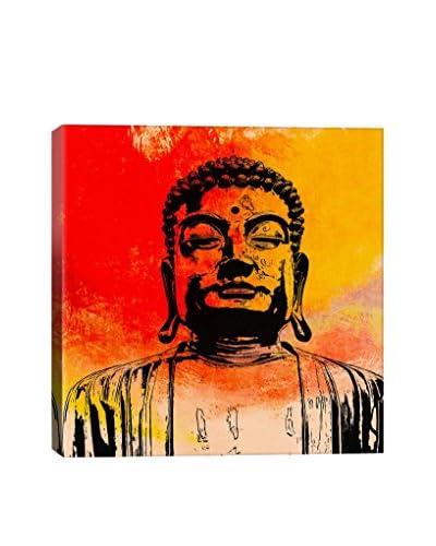 Fabrizio Buddha Impressions #4 Gallery Wrapped Canvas Print