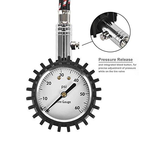 DEDC-Manometro-Pneumatici-Manometro-Pressione-Gomme-per-Auto-e-Moto-Misuratore-Pneumatici-0-60-PSI
