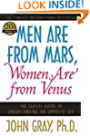 Men Are from Mars, Women Are from Ven...