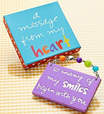 "1-800-Flowers - ""A Message From The Heart"" Artisan Plaque By 1800Flowers front-855407"
