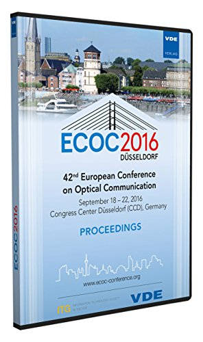 ecoc-2016-cd-rom-42th-european-conference-on-optical-communication-proceedings-september-18-22-2016-