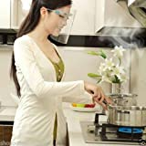 Plastic Glasses Frame Anti-oil Grease proof Splash Mask For Housewife.