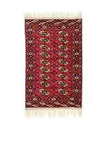 L'Eden del Tappeto Alfombra Bukhara Rojo / Multicolor 126  x  80 cm