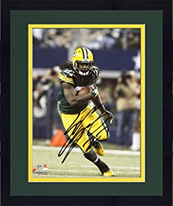 Framed Eddie Lacy Green Bay Packers Autographed 8