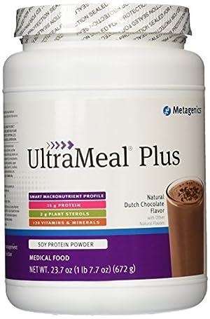 Metagenics Ultrameal Plus Supplement, Chocolate, 672 Gram