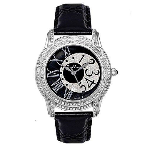 Joe Rodeo diamond Mujer Reloj - Beverly plata 1.35 CTW