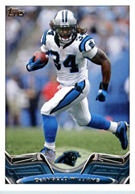 2013 Topps Football Card #291 DeAngelo Williams - Carolina Panthers - NFL Trading Cards