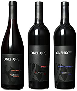 ONEHOPE California Reds II Mixed Pack, 3 x 750 ml