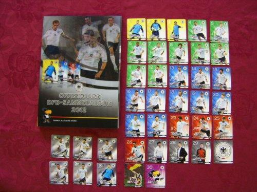 offizielles-dfb-sammelalbum-zur-europameisterschaft-2012-komplett-mit-allen-32-plastikkarten-und-dem