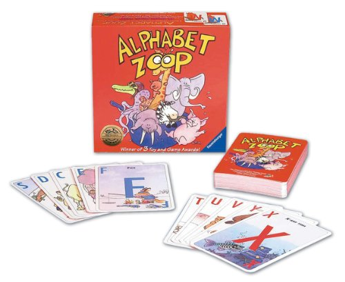Ravensburger Alphabet Zoop - Children's Game