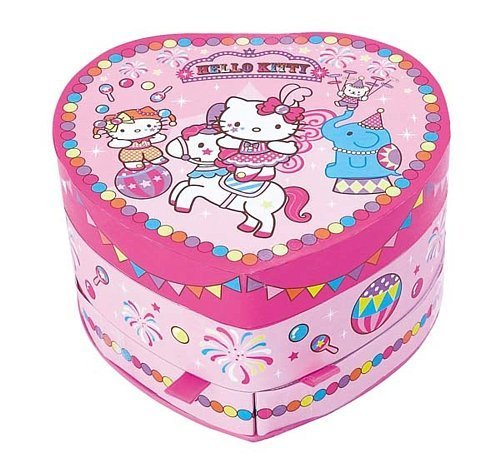 Hello Kitty Musical Jewelry Case: Circus